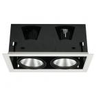 01R-LI02 DL 2x15W LED-WH